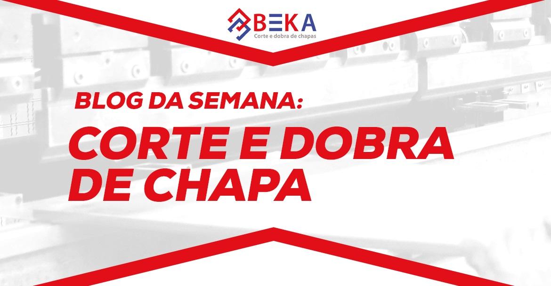 CORTE E DOBRA DE CHAPA