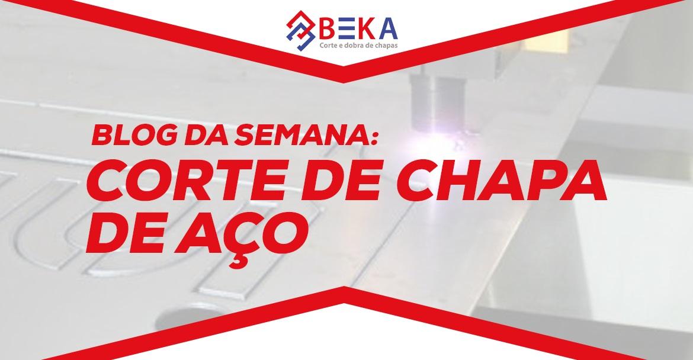 CORTE DE CHAPA DE AÇO