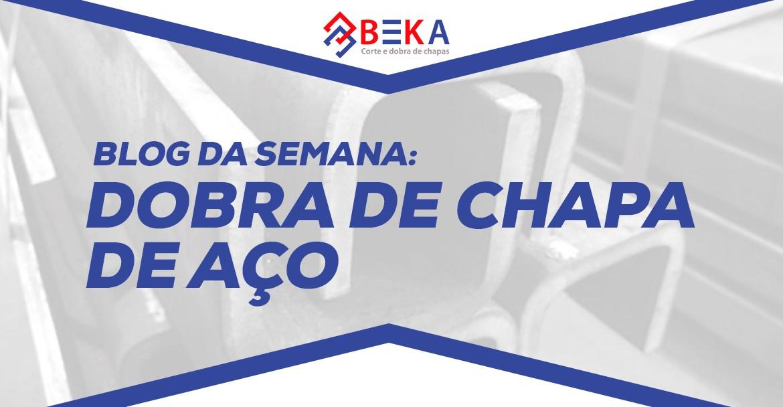 DOBRA DE CHAPA DE AÇO